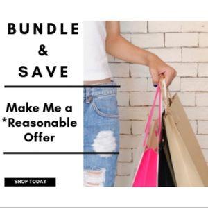 Bundle & Save! Feel Free 2 Make a Reasonable Offer